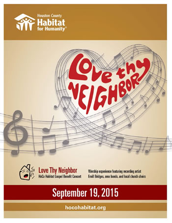 Love Thy Neighbor Gospel Benefit Concert