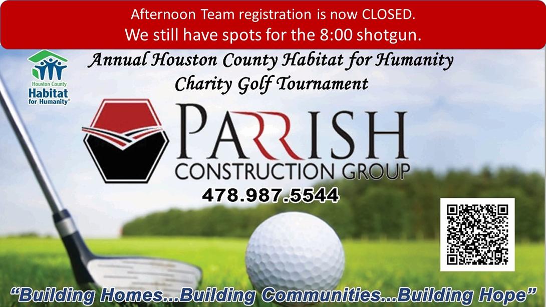 20th Annual Golf Tournament