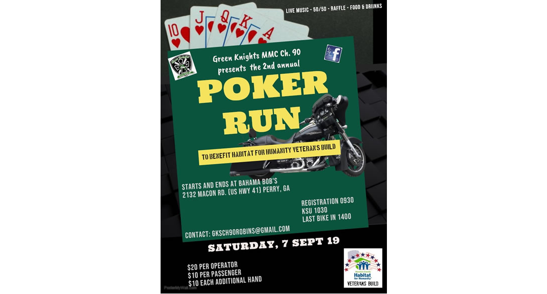 2nd Annual Poker Run