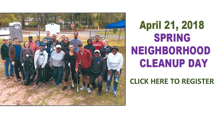Spring Neighborhood Cleanup Day