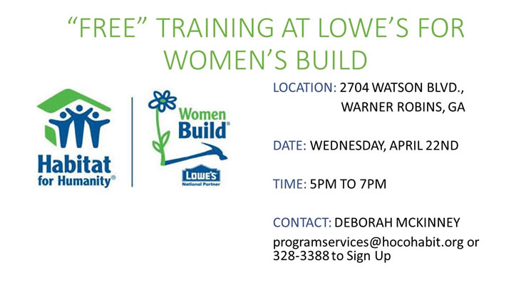 Women Build - Free Training