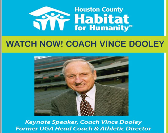 Coach Vince Dooley Virtual Event